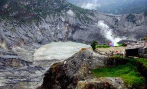 بركان باندونج في جاوة