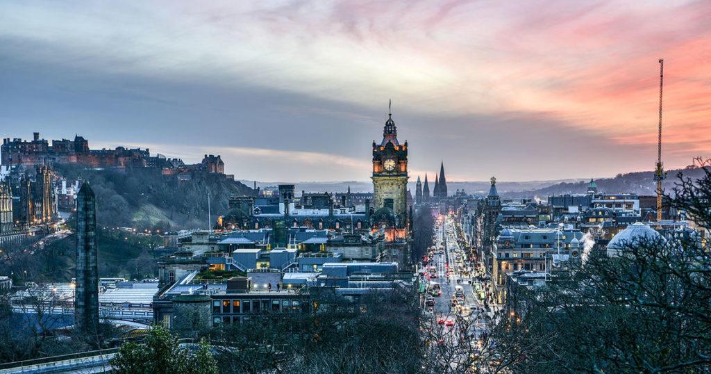 ادنبرة - الشتاء